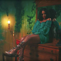 "Rihanna Debuts New ""So Stoned"" Shoe Collection for Manolo Blahnik in DJ Khaled's Latest Music Video"